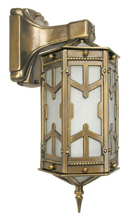 San Simeon Victorian Porch Light Wall Sconce (291-PRC-AC)