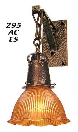 "J Morgan Wall Sconce 2 1/4"" Fitter (295-AC-ES)"