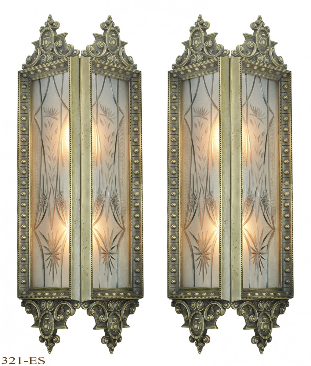 American Large Theater Wall Sconces 321 Es