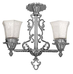 Art Nouveau Lighting Semi Flush Pendants Close Ceiling Lights (336-EP)