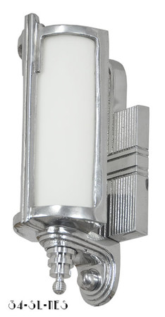 Art Deco Streamline Modern Wall Sconces Lights Lighting Fixtures (34-SL-NES)
