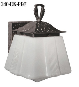 Art-Deco-Or-Arts-and-Crafts-Porch-Sconce-Light---Oil-Rubbed-Bronze-Finish-(340-OB-PRC)