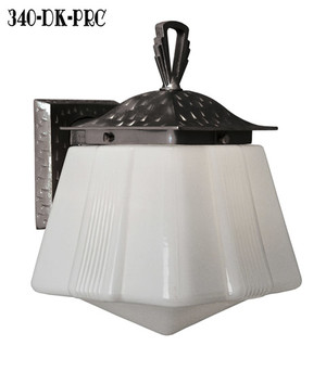 Vintage hardware lighting exterior lighting for Art deco porch light