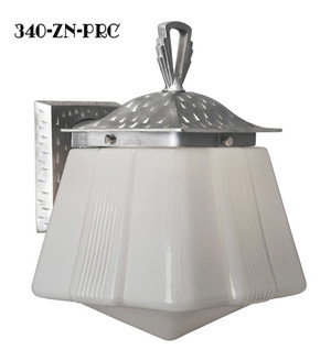 Art Deco Or Arts & Crafts Porch Sconce Light (340-ZN-PRC)