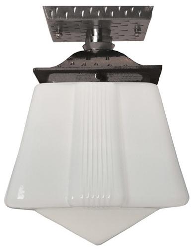 vintage hardware lighting craftsman flush mount porch light