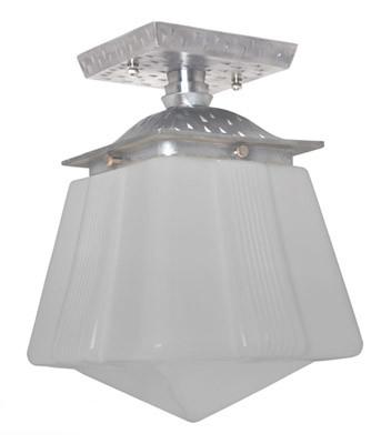 vintage hardware lighting art deco or arts crafts flush mount
