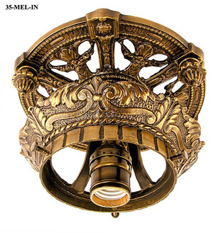 Victorian Close Ceiling Light Fixture (35-MEL-IN)