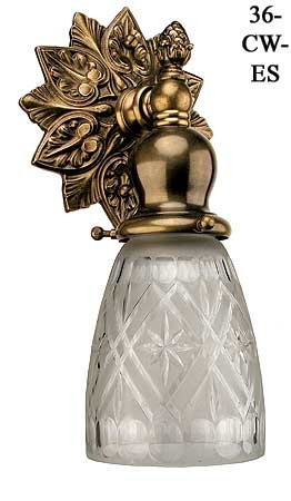 Victorian Style Close To The Wall Sconce (36-CW-ES)
