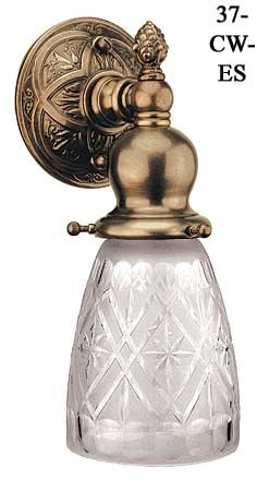 Victorian Or Edwardian Small Electric Sconce (37-CW-ES)