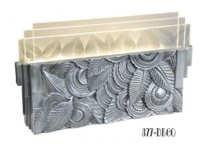 Art-Deco-Wall-Sconce---Leaf-Motif-Ambient-Light-for-Theaters-Hallways-Entry-etc.-(377-DECO)