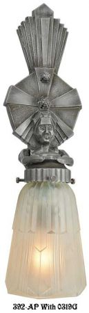 Art-Deco-Wall-Lighting-Figural-Sconces-Oscar-Series-(392-ZN)