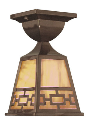 Mission Very Close Ceiling Light Chain Shade (414-MVCC-C1)
