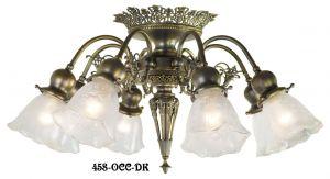 Vintage Hardware Lighting Ceiling Chandelier Lights