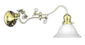 Victorian Double Swivel Wall Sconce C1900 (507-DSW-ES)