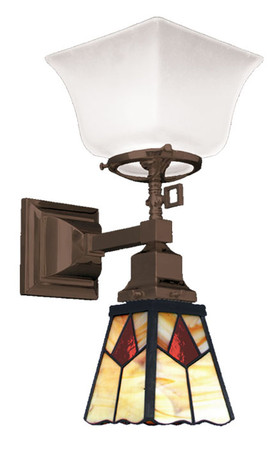 Transitional Mission Gas & Electric Sconce (542-MGE-ES)