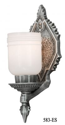 Deco to Arts and Crafts Style Wall Sconce (583-ES)