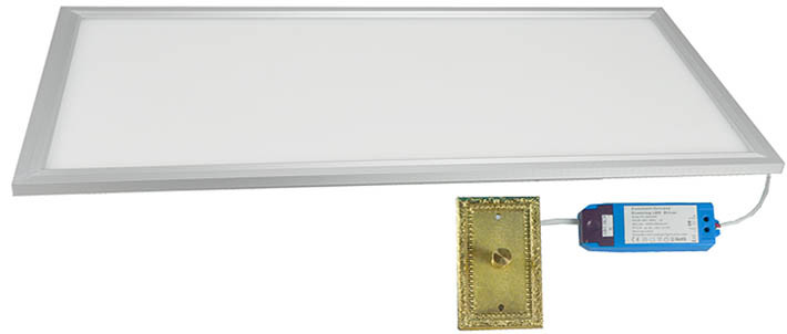 Led Flat Panel Diffused And Dimmable Light 1 X 2