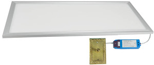 LED Flat Panel - Diffused and Dimmable Light, 2' x 2' 36watts (6060-48-2)