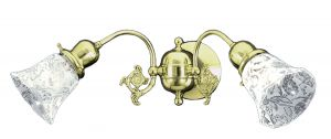 Victorian Or Edwardian Double Arm Sconce (604-DAE-ES)