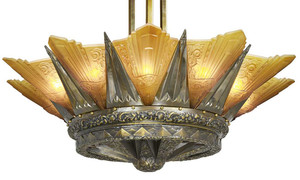 42-inch-French-Marseille-12-Light-Art-Deco-Slip-Shade-Chandelier-in-Polished-Brass-(650-12L-PBX)