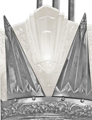 42-inch-French-Marseille-12-Light-Art-Deco-Slip-Shade-Chandelier-in-White-Metal-(650-12L-ZNX)