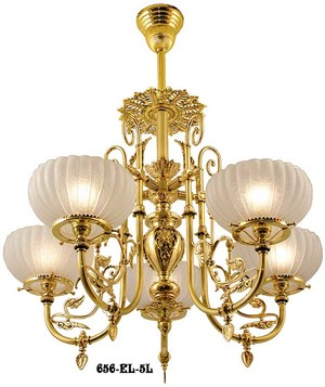Vintage hardware lighting victorian and rococo ceiling lighting victorian chandelier neo grecian 5 light circa 1875 656 el 5l mozeypictures Image collections