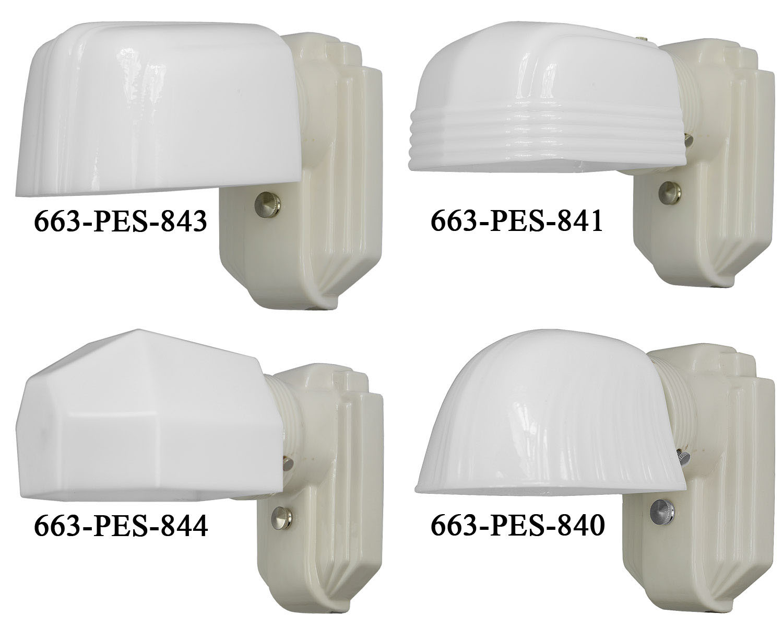 Vintage White Porcelain Wall Sconces: Vintage Hardware & Lighting