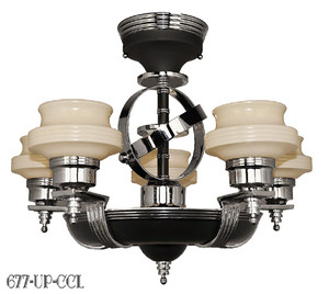 American-Art-Deco-Streamline-Modernist-Chandeliers-(677-UP-CCL)