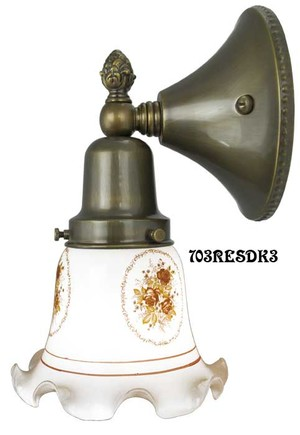 Victorian Style Close To The Wall Sconce  (703RESDK3)