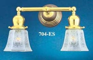 Victorian Double Electric Sconce (704-ES)