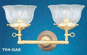 Victorian 2 Arm Sconce (704-GAS)