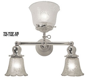 Victorian-Gas-and-Electric-Triple-Sconce-Nickel-Plated-(705-TGE-NP)
