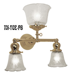 Victorian-Gas-and-Elec-3-Light-Sconce-(705-TGE-PB)