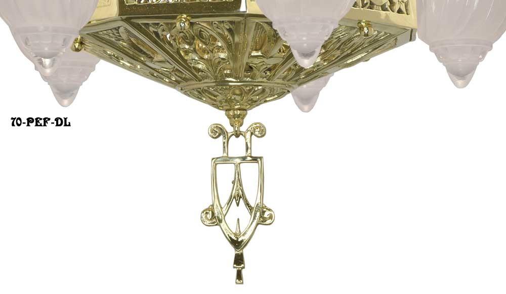 Vintage Hardware Lighting Art Deco Ceiling Lights