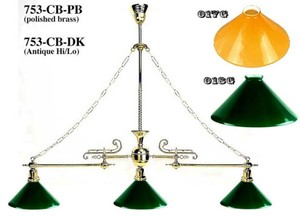 Victorian Billiard Table Light (753-CB-PB)