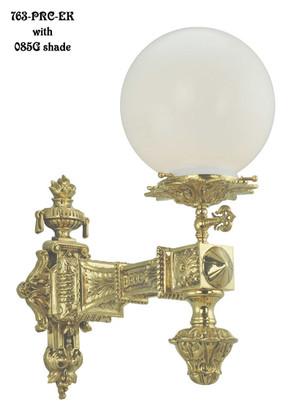 Victorian Porch Light Circa 1876 763 Prc Ek
