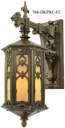Arts & Crafts Wexham Porch Light C1920 (768-PRC-FC)
