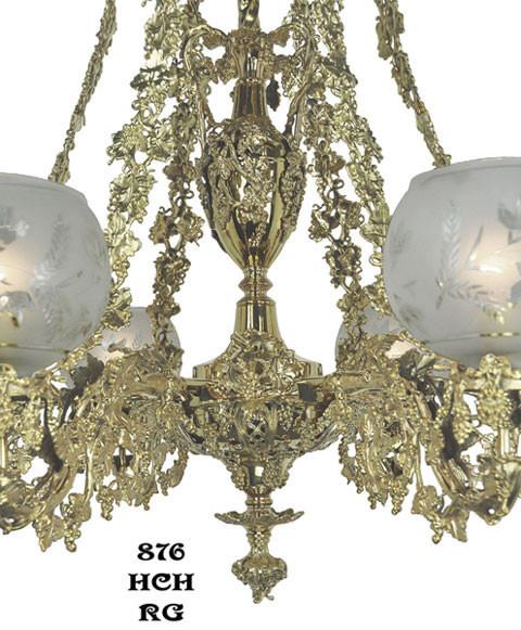 Vintage Hardware Amp Lighting Victorian Chandelier Neo