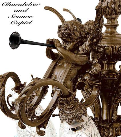 Quantity: - Vintage Hardware & Lighting - Victorian Cherub Or Cupid French 9
