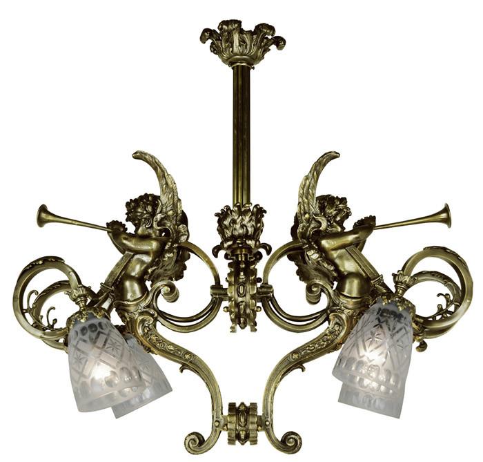 Vintage Hardware Amp Lighting Victorian Cherub Or Cupid