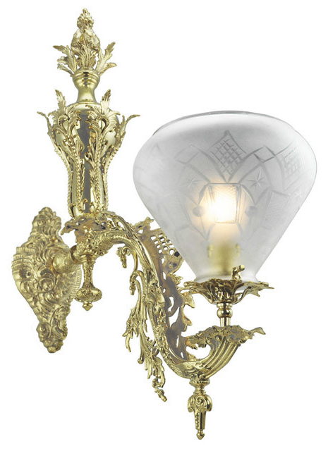 Victorian Wall Sconce Neo Rococo Starr Fellows 1 Arm