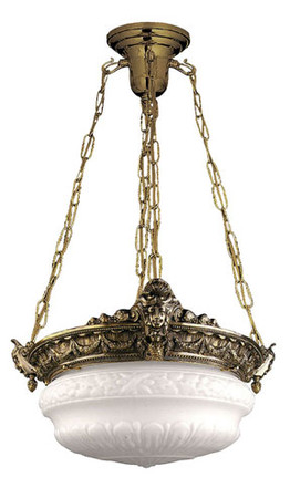 Empire-Style-Chain-Mounted-Chandelier-with-4-Sockets-(92-CHB-PB)