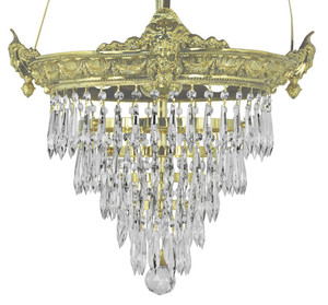 Victorian-Chandelier---Empire-Style-Crystal-Prism-Chandelier-(93-CRS-CH)