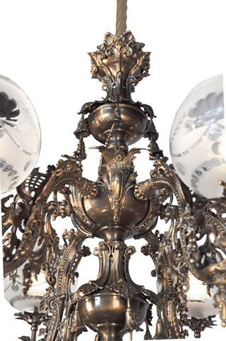 Vintage Hardware Amp Lighting Victorian Chandelier