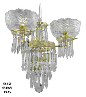 Victorian-Sconce---Crystal-Prism-Deluxe-Double-Sconce-By-Oxley-Giddings-(949-CRS-RS)