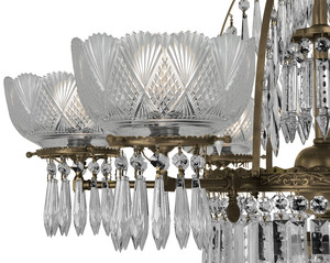 Crystal-Prism-6-Light-Oxley-Giddings-Chandelier-(950-HCR-RC)