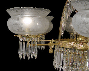 Crystal-Prism-10-Light-Oxley-Gidding-Chandelier-(951-10L-CH)