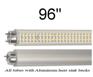 8 Foot LED Replacements For T8 Fluorescent Tube (96-ND-27)