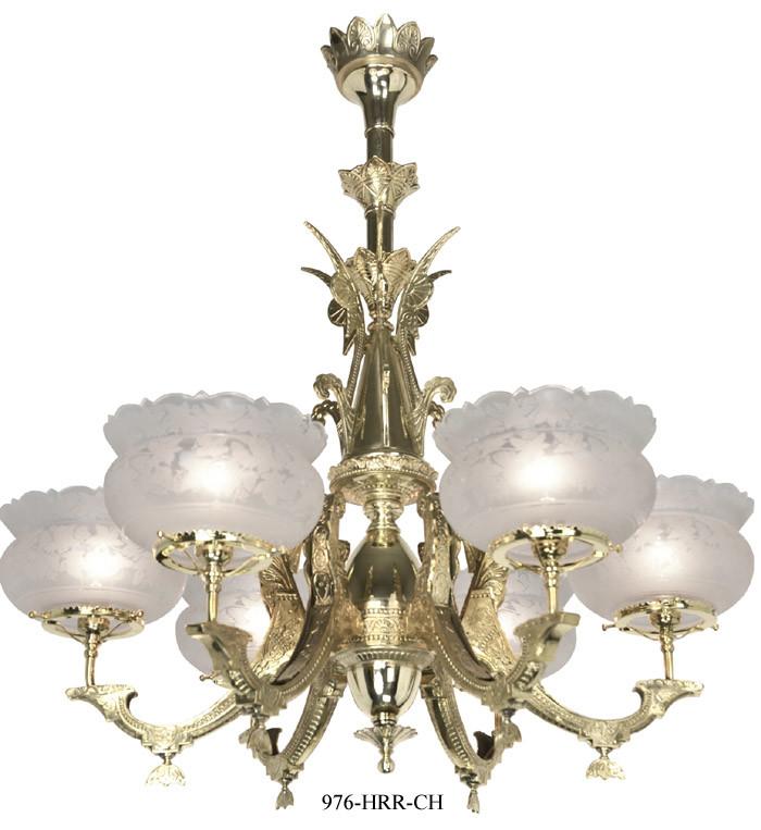 Vintage Hardware Lighting Victorian Chandelier Neo Grecian 6 – Victorian Chandelier
