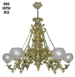 Victorian Chandelier Neo Rococo Cornelius 6 Light Circa 1840 996 Hch Rg